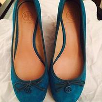 Tory Burch Suede Wedges 8.5 Photo