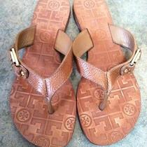 Tory Burch Tan Leather Sandals 7 Photo