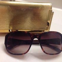 Tory Burch Tortoise Sunglasses  Photo