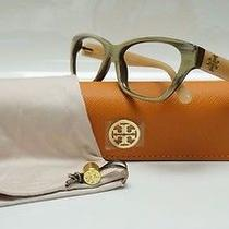 Tory Burch Ty 2053 Eyeglass Frame 1444 Coconut/blush Missing Lens / Rx13a/30 Photo