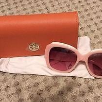 Tory Burch Ty 7070 Blush 1282/14 Plastic Maquis Sunglasses Photo