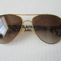 Tory Burch Ty6010 361/13 Gold Marble Brown 57-14-135 3n Sunglasses Photo