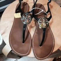 Tory Burch Violet Thong Sandals Sz 9 Photo