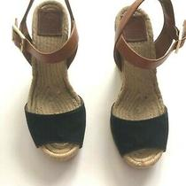 Tory Burch Wedge Espadrilles - Size 8 Photo