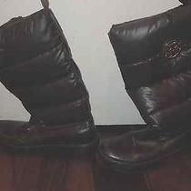 Tory Burch Women's Sz 9 Snow Boots   Photo
