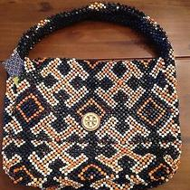 Tory Burch Wood Bead Bag Photo