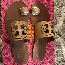 Tory Burch Zoey Toe Ring Slides Size 6 New Photo