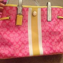 Tote by Coach Cute Pink Photo