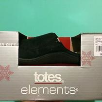 Totes Elements Men's Slippers Size Xl 11-12 Clog Indoor/outdoor Sole Photo