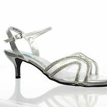 Touch Ups Womens Layla Silver Sandals Size 9.5 (650110) Photo