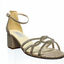 Touch Ups Womens Rose Gold Ankle Strap Heels Size 9 (1251280) Photo