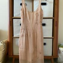 Tracy Reese Silk Blush Lined Dress Embellishment Photo