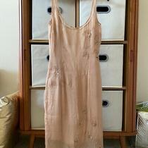 Tracy Reese Silk Blush Lined Dress Embellishment Photo