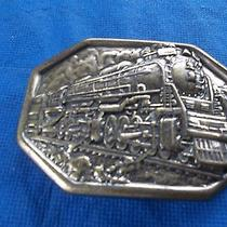 Train Belt Buckle by Avon Photo