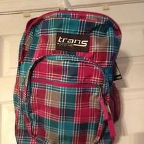 Trans Backpack by Jansport. Brand New. Plaid Photo