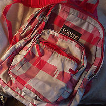 Trans by Jansport Backpack Pink White Gray Girls Womens Pack Bookbag Photo
