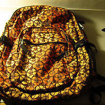Trans by Jansport Backpack Skulls & Crossbones Brown/orange/black Photo