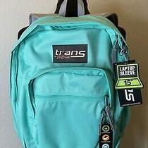Trans by Jansport Backpack Tropical Teal New With Tags Photo