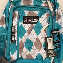 Trans by Jansport Patterned Backpack With Computer Compartment Photo