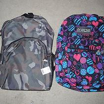 Trans Jansport Backpack and Army Backpack Photo