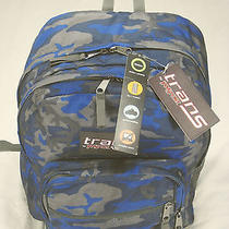 Trans Jansport Backpack Blue Camo New With Tags Back to School Bts B2s Photo