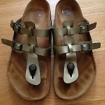 Trendy Authentic Birkenstock Metallic 37/ 240 Photo