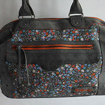 Trendy Billabong Flowery Print Handbag Bag Purse  Photo