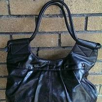 Trendy Black Roxy Bag Purse Handbag Photo