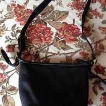 Trendy Coach Vintage Black Leather Handbag Photo