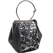 Trendy Fashion Handbag Purse Evening Bag Clutch Gray Photo