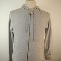 Trendy John Varvatos Converse Men's Gray Hooded Hoodie Jacket 1 Photo