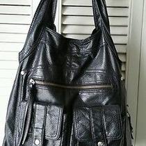 Trendy Large Limited Edition Black Roxy Bag Purse Handbag Photo