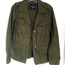 Trendy Olive Military Jacket - Madewell - Sz. S Photo