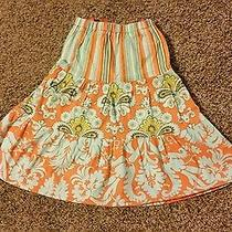 Trendy Sisters Girls Skirt Bright Colors Size 3t Photo