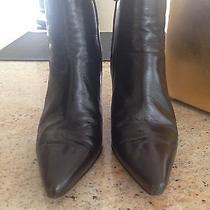 Trendy via Spiga Black Bootie Size 7 Photo