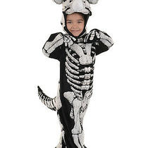 Triceratops Fossil Toddler Childs Extinct Dead Dinosaur Halloween Costume Photo
