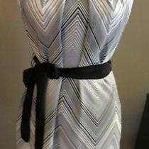 Trina Turk Black and White Dress - Size 4 Photo