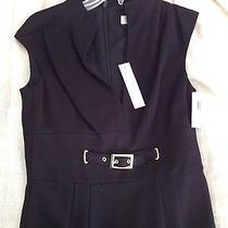 Trina Turk Black Cocktail Dress Brand New With Tags Size 2 Photo