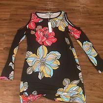 Trina Turk Cold Shouder Dress Size-M Brand New Photo