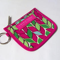 Trina Turk for Clinque Key Ring Bag Cosmetic Cards Zip Closure Extra Nice (B-21 Photo