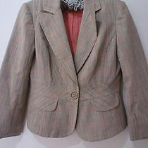 Trina Turk Jacket Short Cute Style Modern Colors Peach Is in . Cuteness Photo