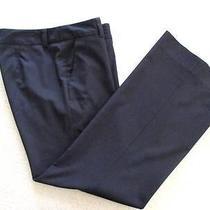 Trina Turk La Black Dress Casual Pants Size 6 Sm Pockets Smooth Back Bootcut Photo