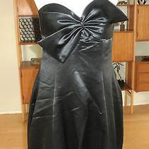 Trina Turk Lake Bubble Dress Blk Sz 8 Brand New  Photo