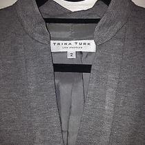 Trina Turk Los Angeles Size 2 Dress Modern Lace Trim Photo