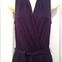 Trina Turk Purple Jumpsuit With Wrap Belt Size 0 Nwt Photo