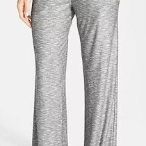 Trina Turk Recreation Designer Pants Nwt140 L Wide Leg Gray Yoga Swim Lounge Photo