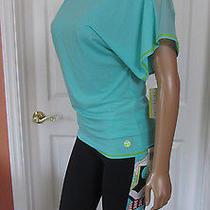 Trina Turk Recreation Mesh Inset Super T-Shirt Top  Size S  Nwt. Photo