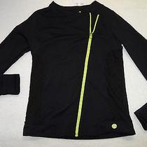 Trina Turk Recreation Women's Jacquard Moto Jacket Black Size S-154 Photo