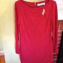 Trina Turk Red Dress Size 4 Nwt Photo