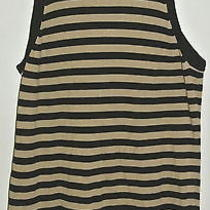 Trina Turk Tank Top Sweater Knit Striped  Size M  Ladies Womens Photo